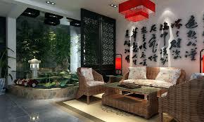 Oriental Decor Asian Themed Living Room Design Interior Makeover Oriental