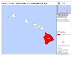 Hawaii Lava Flow Map Hawaii Puʻu ʻōʻō Volcanic Eruption And Lava Flow Dr 4201 Fema Gov