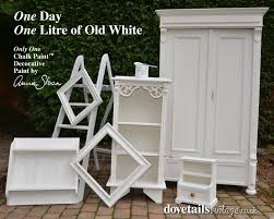 mixing annie sloan colors with pure white old white chalk paint