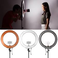 neewer led ring light neewer camera photo video led ring light 18 inches 48 centimeters