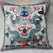 handmade cushion covers 18 inch high end chinese style cotton