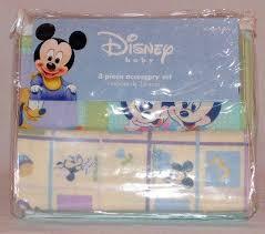 Mickey And Minnie Crib Bedding Disney Baby Mickey S Pals 3 Accessory Set Baby Bedding Center