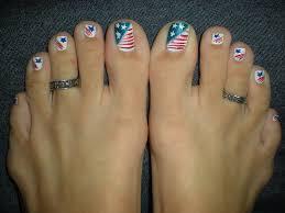 4th july toe nail designs gallery nail art designs