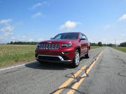 2014 blue jeep grand cherokee peak this 2014 jeep grand cherokee summit u2014 auto trends magazine