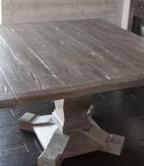 table adorable square tables built from reclaimed wood