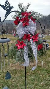 Christmas Grave Decorations Three Gypsy Souls