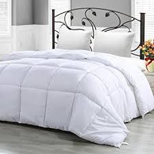 home design down alternative color comforters amazon com twin comforter duvet insert white quilted comforter