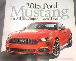 ford mustang ads press ads for 2015 ford mustang leaks out ahead of worldwide