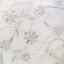 Cercan Tile Inc Toronto On by Tile Bar Narcissus Thassos And Mother Of Pearl Flower Tile