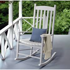 A Rocking Chair Mainstays Jefferson Wrought Iron Porch Rocking Chair Walmart Com
