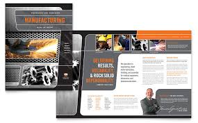 engineering brochure templates free download manufacturing
