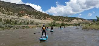 Salida Colorado Map by River Runners Salida Raft Kayak Stand Up Paddle Board