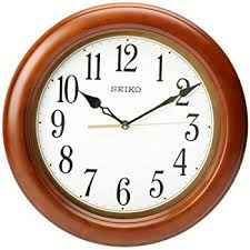 wall watch amazon com seiko qxa522blh classic wall clock watches