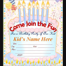 attractive design birthday invitation cards online free 23 about