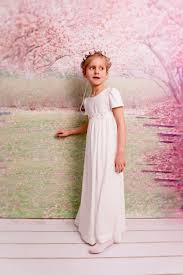 junior bridesmaids dress ivory dress holy communion dress