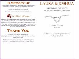 wedding bulletins exles 37 printable wedding program exles templates template lab