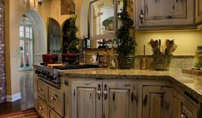cabinet design distressed kitchen island stunning antiquing