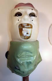 mechanical jaw repair of the gemmy halloween monster