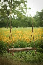 tree swing reclaimed wood bench swing hanging rope
