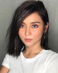 katrine bernardor hair color look photos of the queen hearts kathryn bernardo hair cool color