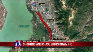 Utah County Plat Maps Officer Involved Shooting Chase Forces I 15 Closure In Utah