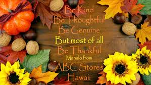 abc stores happy thanksgiving from abc stores hawaii