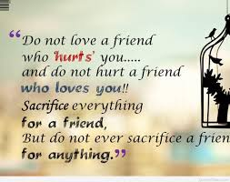 Love Quotes For A Friend by Best Friendship Quote