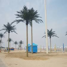 high quality artificial outdoor plastic palm tree artificial tree