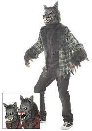 scary halloween costumes for boys full moon werewolf costume