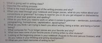 write reflection paper dear mom 7th graders write midterm letters midterm writing reflection