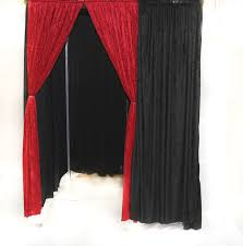photo booth enclosure pipe and drape photo booth
