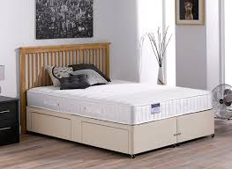 kendall pocket spring divan bed beige medium