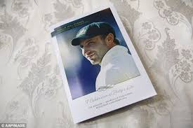 Funeral Booklets Tasteless Ebay Seller Lists Phillip Hughes U0027 Funeral Order Of