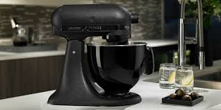 kitchen aid mixer kitchenaid all black mixer now available all black limited edition