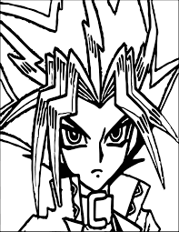 yugioh coloring pages wecoloringpage