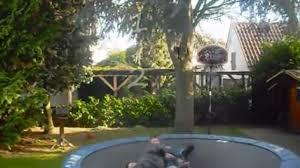 backyard trampoline wrestling home outdoor decoration