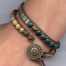 beading leather bracelet images 575 best bead leather wire wrap bracelets images jpg