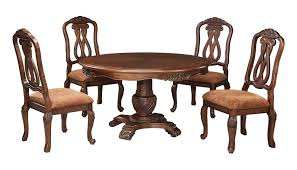 ashley furniture corner table ashley furniture north shore round dining room pedestal table set