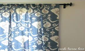 Upholstery Fabric For Curtains Navy Ikat Curtains S Upholstery Fabric Coral Ncgeconference