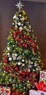 white decorated trees professionally white pine
