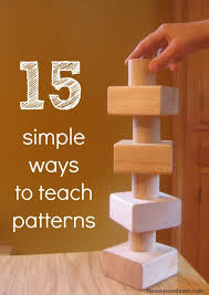 kindergarten pattern books writing 15 simple ways to teach patterns to preschoolers the measured mom