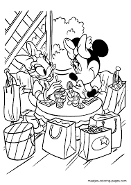 coloring pages of minnie mouse and daisy duck daisy minnie shopping minnie mouse daisy duck doc mcstuffins