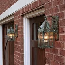 exterior garage lighting ideas awesome exterior garage lights in brass light gallery 3 zalifalcam
