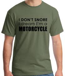 dream in motorcycle husband humor boyfriend gift for him dad
