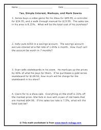 compound interest word problems worksheet worksheets