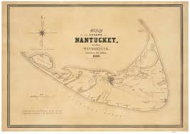 Map Of Central Massachusetts by Old Town Maps Of Nantucket