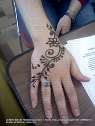 simple henna tattoo from hennadesigner com body art pinterest