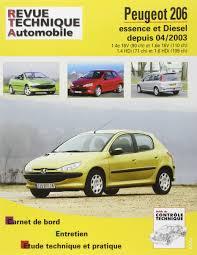 rta 694 2 peugeot 206 essence et diesel depuis 04 2003 amazon fr