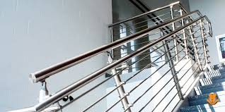stainless steel banister rails cylindrical glass railing stainless steel railing systems circa
