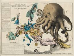 Rose State College Map by The Octopus A Motif Of Evil In Historical Propaganda Maps